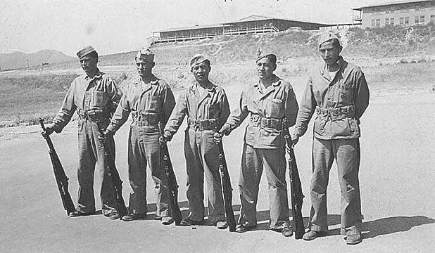Photo of Navajo Code Talkers