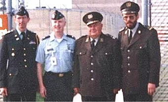 General Bobetko, third from the left