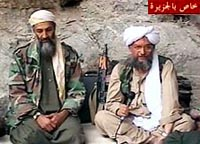 Bin Laden and Ayman al-Zawahri