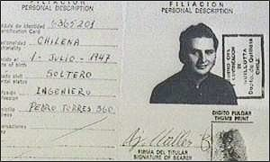 One of his passports