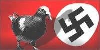 Airborne threat of Nazi pigeons